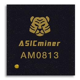 Puce AM0813 de l'ASICminer 8 NANO