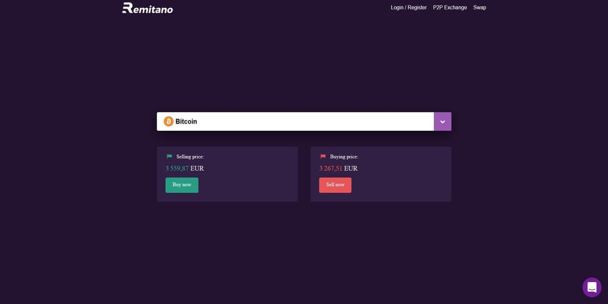 Acheter Bitcoin chez Remitano