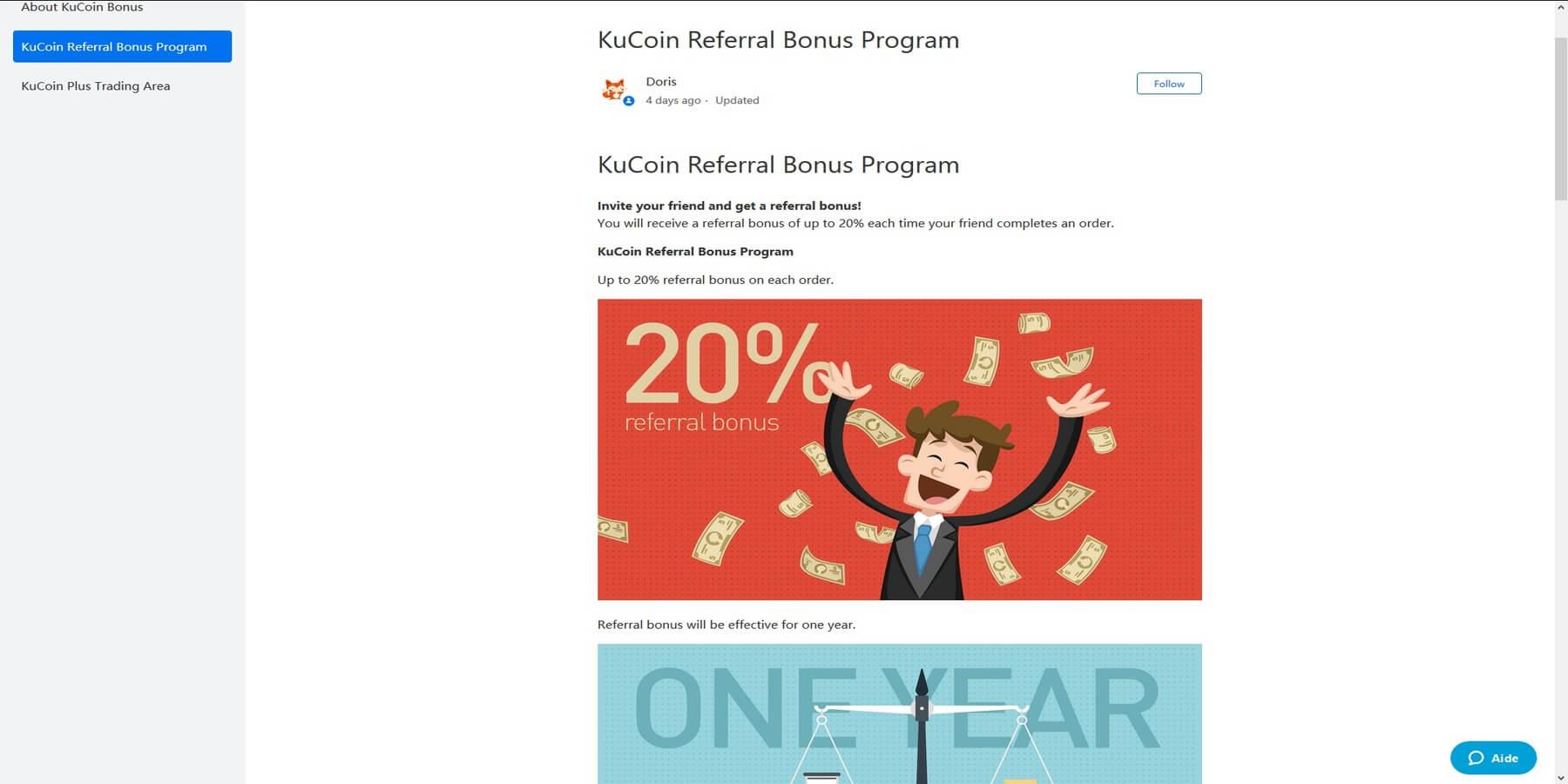 Programme de parrainage de KuCoin