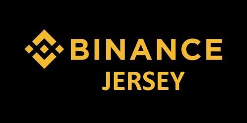 logo Binance Jersey