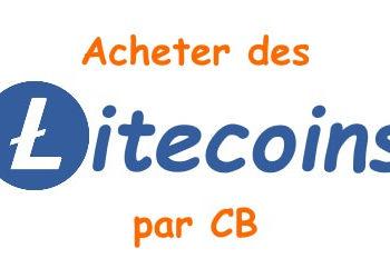 Acheter des Litecoins par CB