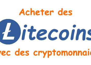 Acheter des Litecoins par cryptomonnaie