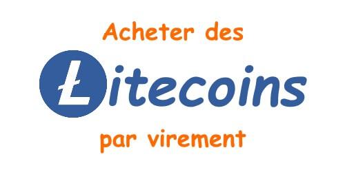 Acheter des Litecoins par virement