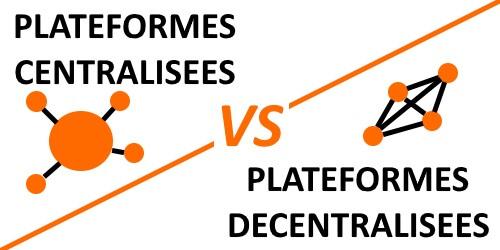 Plateformes de cryptomonnaies centralisées vs décentralisées