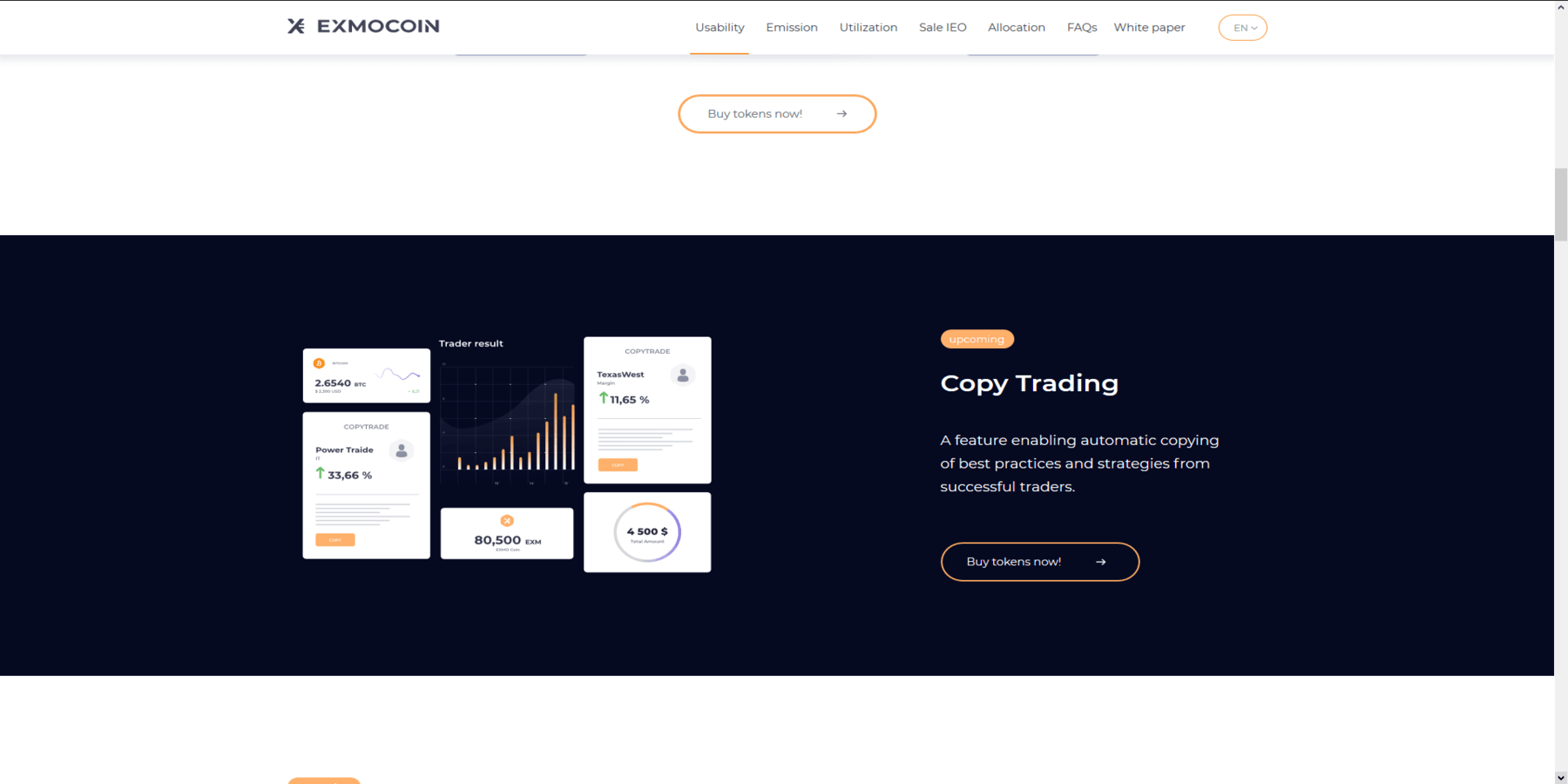 Exmo coin copy trading