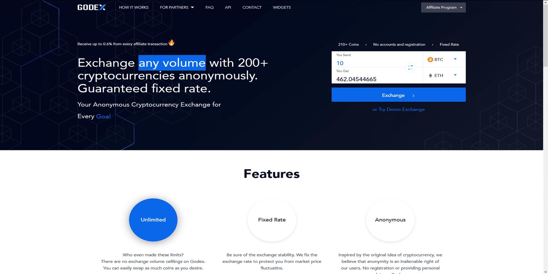 Acheter des cryptomonnaies chez Godex